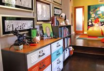 Comic strip room ideas / by Danielle Mills