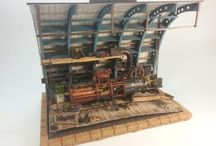 Steampunk Diorama