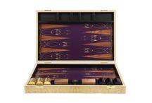 Antler Backgammon Board