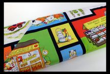 Fun Fabrics - Great for Kids! / Vibrant, colorful fabrics - perfect for the little ones in your life!