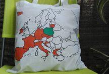 Gadżety podróżnicze / Handmade bags. DIY