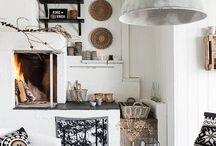 natural, white, grey, black, wood, glass, ceramic, sisal