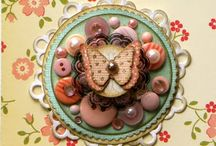 Embellished paper doilies / by Jacqueline Chimes