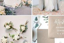 Inspiration | Neutral Weddings