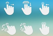 (Multi-)Touch Gestures