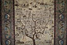 FIGURATIVE RUG - PERSIAN