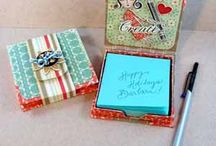 Sticky Note Gift Packages by Tombow Adhesives December 2012