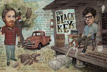 The Black Keys / The Boys With The Broken Halos
