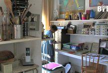 ateliers/studios / by Pia Drent