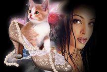Kedi, Köpek, çeşitli hayvan gifleri. Cat, Dog, various animal gifs