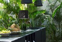 Outdoor kitchen / by Nicole Miller