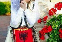 Albanian Folk Costumes / Albanian Beautiful Traditions <3