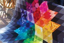 Craft-rainbow quilting