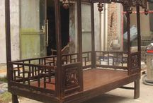 Chinese Beds / These beds have magnificent designs and are hand painted to add to the unique look.