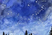 Watercolor painting easy