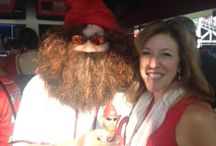 #WerthGoesGnome with #TracyGoesGnome / Pictures of the Jayson Werth Garden Gnome and me dressing as the Jayson Werth Garden Gnome. #WerthGoesGnome #Nats
