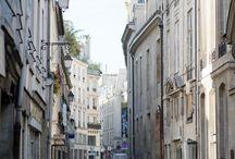 City alleys
