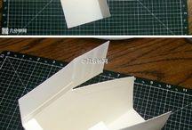 trabalhos em papel