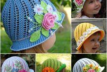 Crochet Hats - Hattar - Húfur