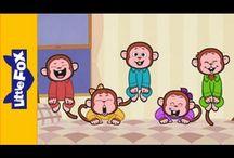 Children's songs / Canciones en inglés para niños de 3 a 6