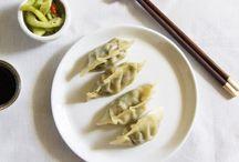 Dumplings / mat