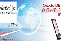 Oracle India / online training in hyderabadsys.com