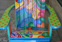 Adirondack chair's / by Terrie Farmer