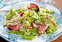 Salat-Rezepte und leckere Dressings / Entdecke die besten Salaterezepte für jede Saison und jede Gelegenheit. Dazu gibt's leckere Dressing-Ideen, von Vinaigrette bis Himbeerdressing