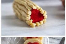 How To Make Slice n' Bake Valentine Heart Cookies,…