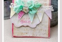 Crafts... CARD COLOR INSPIRATION / by Sarah Martina Parker