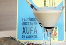 Cócteles con horchata de chufa de Valencia
