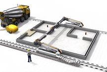 Impresión 3D / Sistemas, aparatos y robots relacionados con la impresión 3D, tanto para uso doméstico como para la construcción de estructura más grandes y complejas, incluso casas.