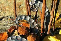Blacksmithing Sculpture inspiration