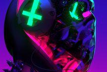 Cyberpunk Aesthetic / Low-life future