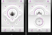 User Interface Music Player