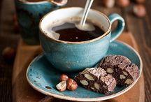 kawa, herbatka, czekoladka