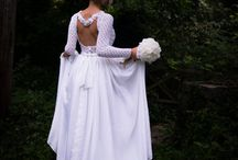 wedding dress / handmade wedding dress