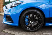 Mk3 Focus RS Alloy Wheels / Various styles, colour and sizes of alloy wheels on the Mk3 Focus RS