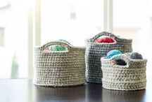 Crocheted baskets / by Karen Anderson