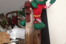 Christopher Pop-in Kins / Our Magic little elf that reports back to Santa, about our behavior...... / by Misty Wainwright