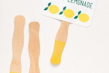 lemonade stand / for lemonade stand parties and play