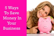 Money Saving Blogs, Tips and Tricks / A whole range of utterly fabulous blogs on how to save money in your business and in your personal life as a female entrepreneur. #money #moneysaving #makingmoney #moneysavingblogs