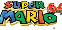 Super Mario 64 / A collection of artwork, screenshots and other images from Super Mario 64 on the Nintendo 64.  Visit http://www.superluigibros.com/super-mario-64 for more information on this game.