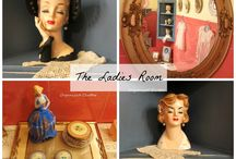 Vintage: Head Vases / Collecting and decorating with lady head vases. / by Carlene @ Organized Clutter