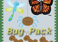 Bugs & Insect  Activities for Kids / Bug & Insect crafts and printables / by Cassie Osborne (3Dinosaurs.com)