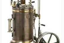 Steampunk steam engine