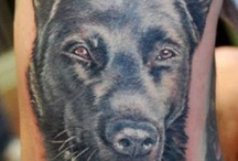 Tatuaże z psami / Dog tatoos
