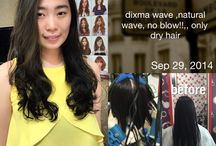dixma wave korean wave / no blow!! only dry hair