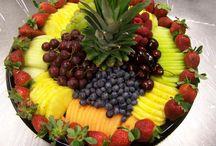 Fruits platters
