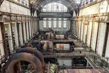 régi ipari létesítmények